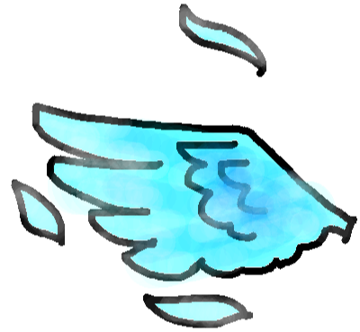 drawing61 - Frosty wings