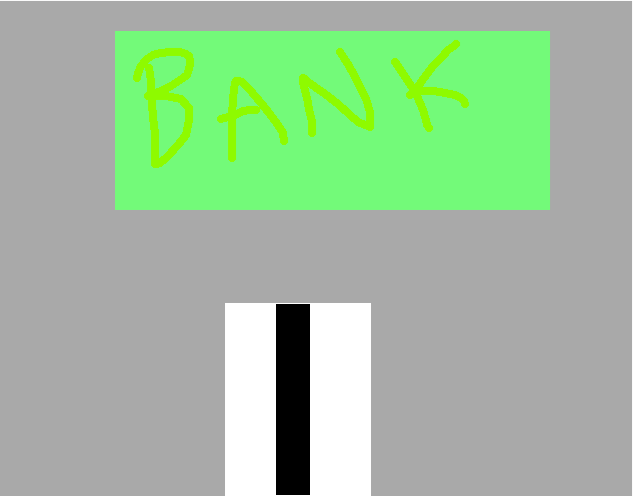 bank - drawing
