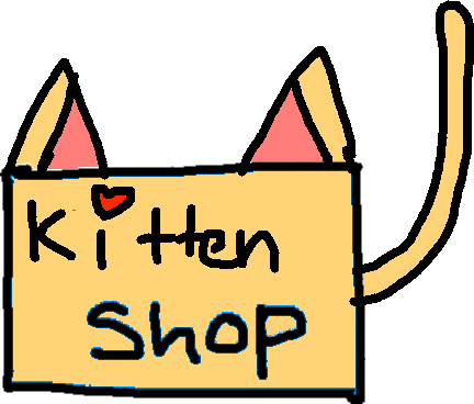 shop button - drawing