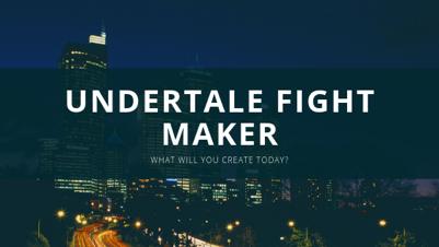 Undertale Fight Maker | Tynker