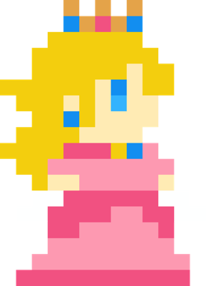 Princess Peach - idle