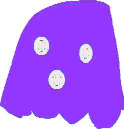 Purpl Ghost - drawing