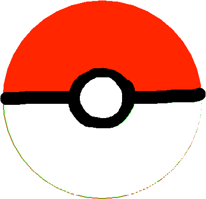 Pokeball - drawing