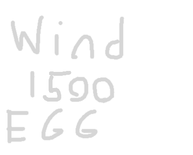 Wind Egg - drawing