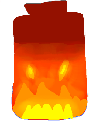 drawing - Fire Bottle Skin