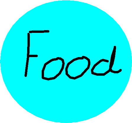 food button - drawing