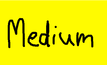 medium - drawing