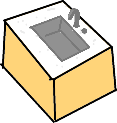 sink - drawing