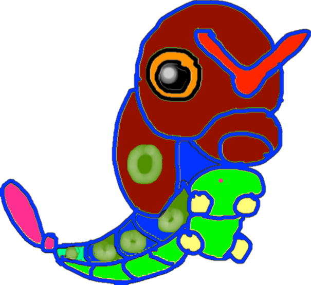 caterpie1 - drawing