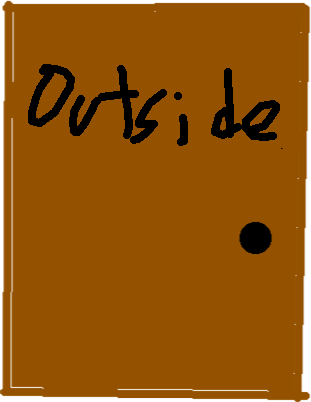 Outside Door - drawing