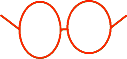 Glasses - Red