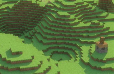 background scene - minecraft background