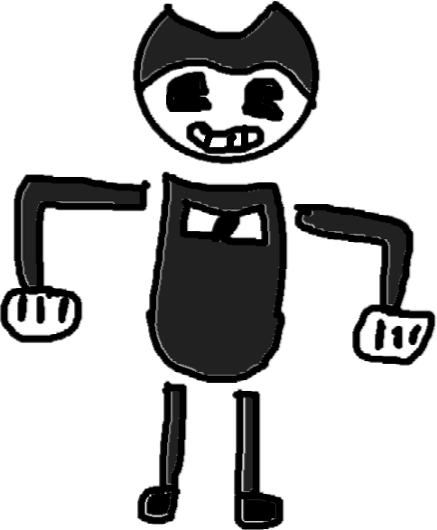 drawing - bendy 2 3D