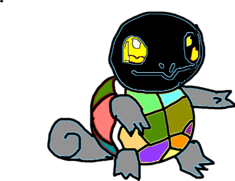squirtle - drawing