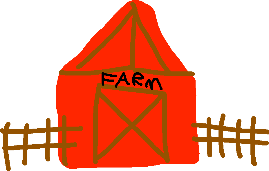 farm - drawing