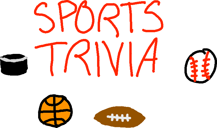background scene - sports trivia