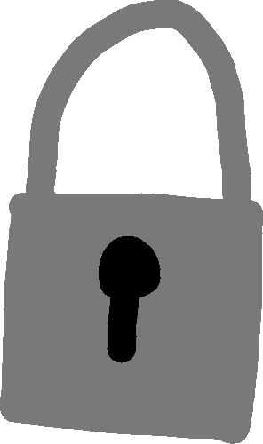 lock - drawing