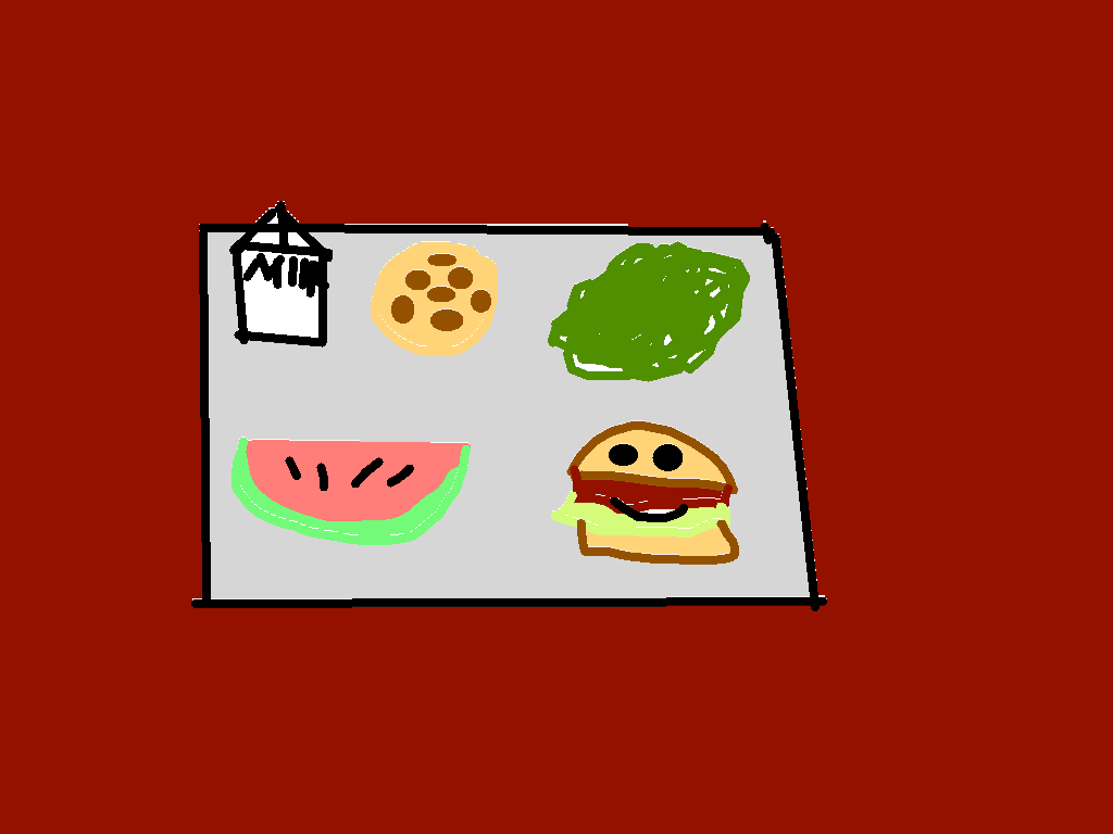 background scene - Lunch