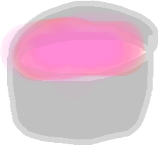 pink blush - drawing