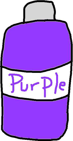 Purple dye - drawing