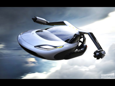 clicker - Flying car