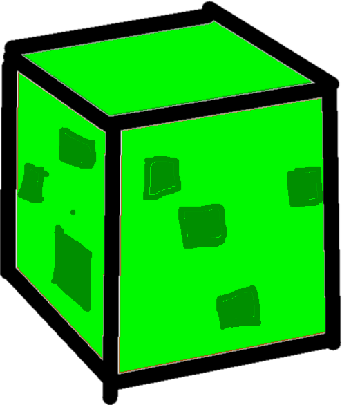 Slime Block - drawing
