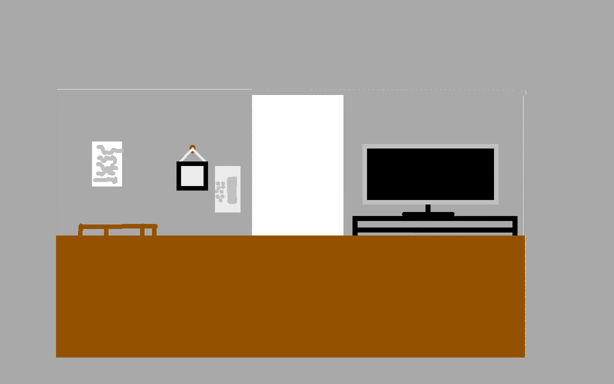 background scene - Living room