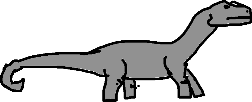 Apatosaurus - drawing copy copy copy