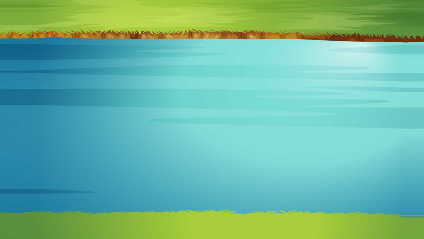 background scene - Calm River