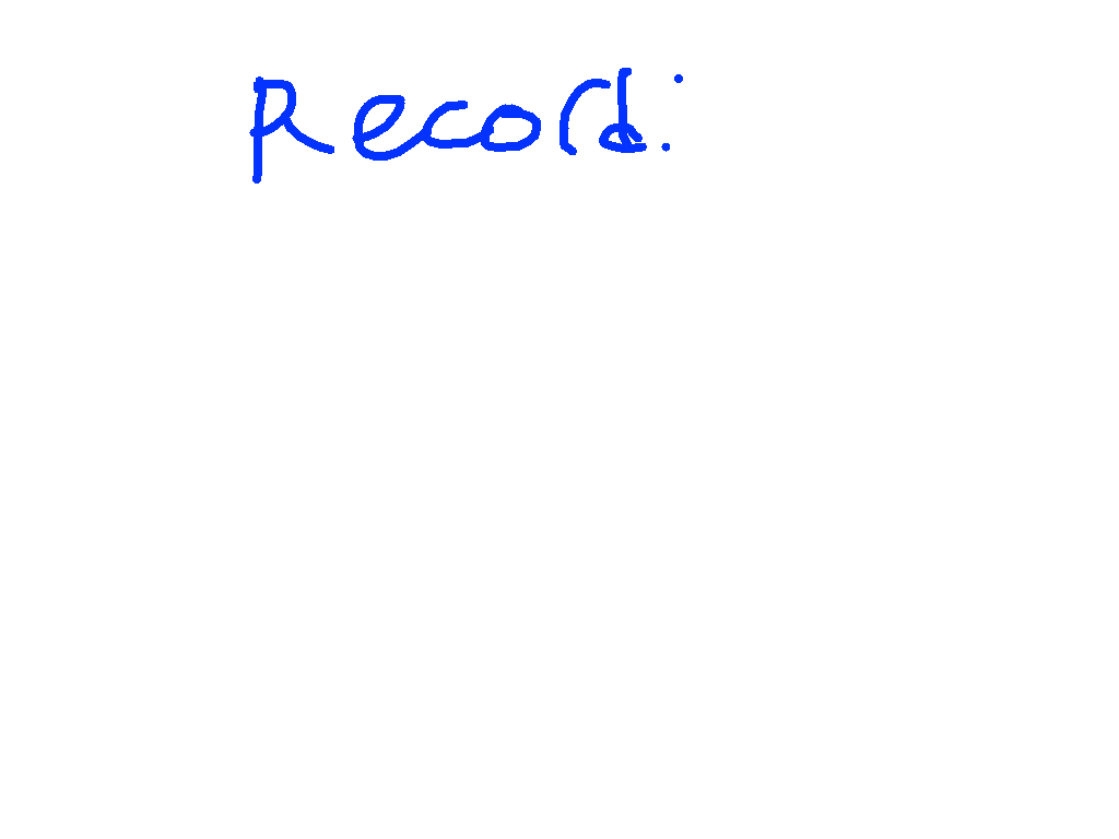 background scene - Record Ask