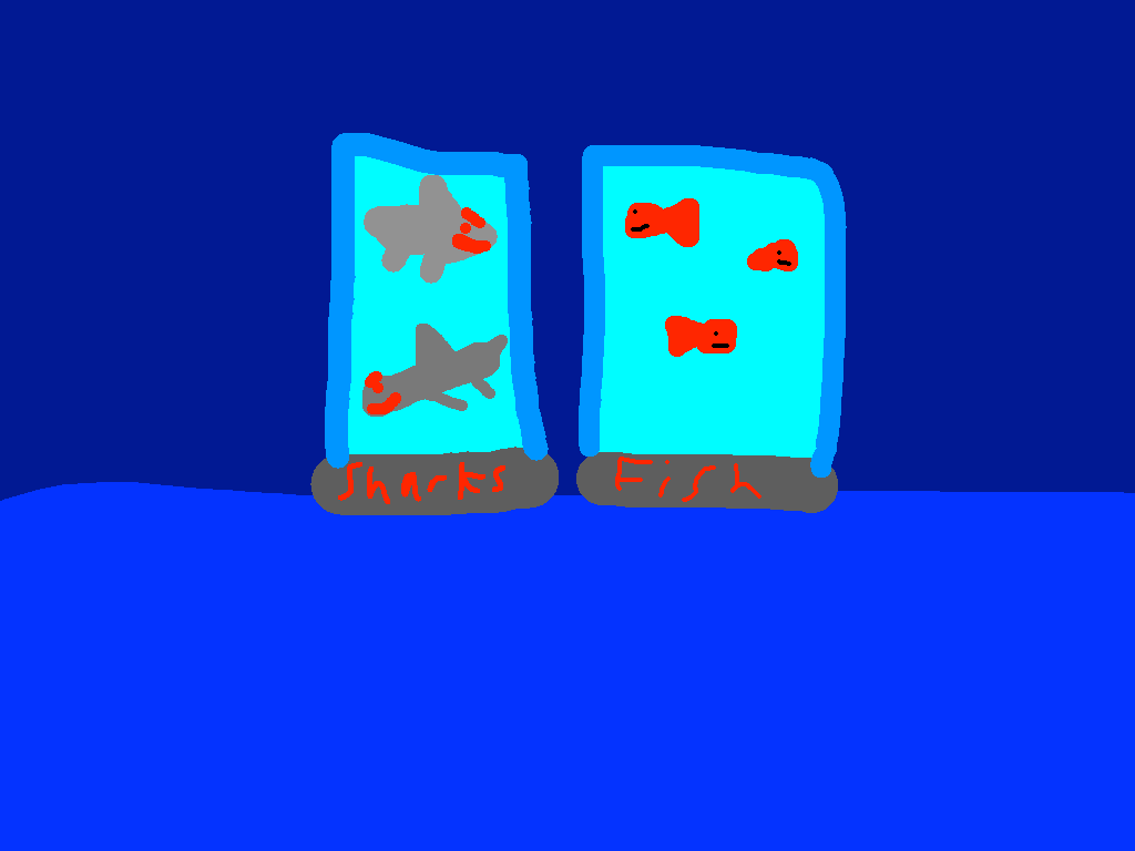 background scene - aquarium 2