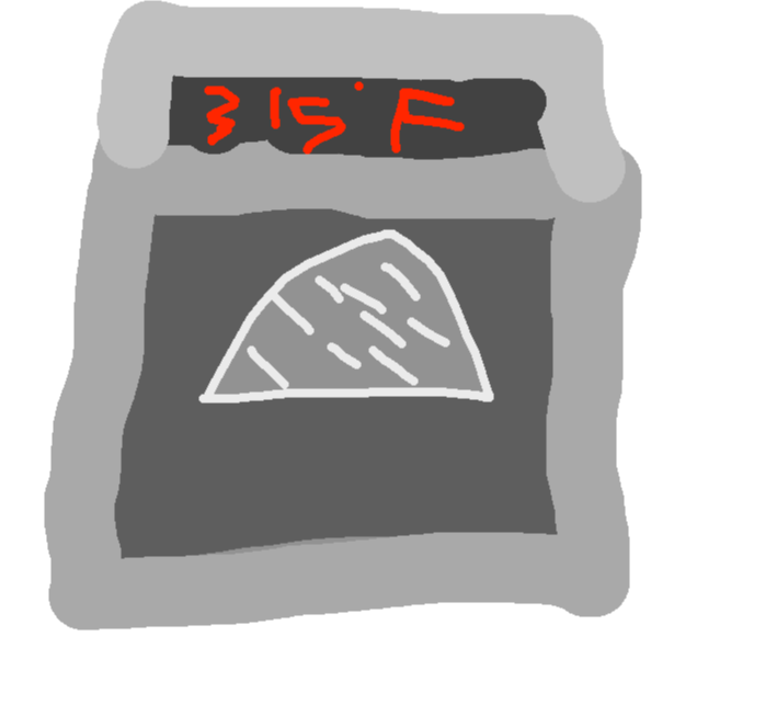 Oven - drawing