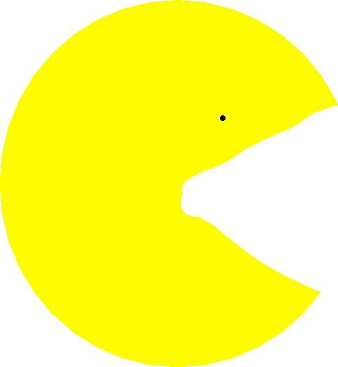 pacman - drawing