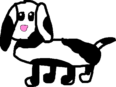 puppy 2 - drawing