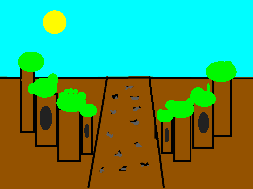 background scene - forest2