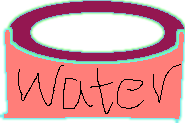 water bowl - drawing