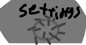 settings  - drawing