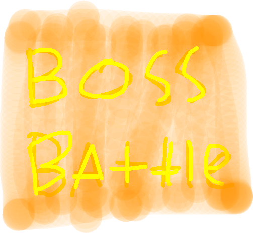 boss battle - drawing