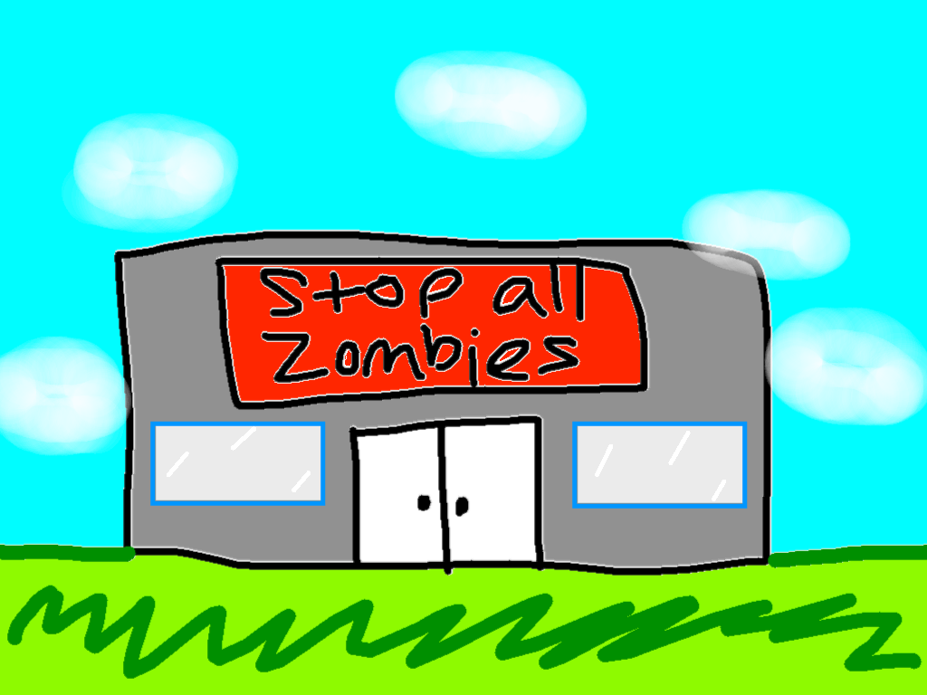 background scene - Stop all Zombies