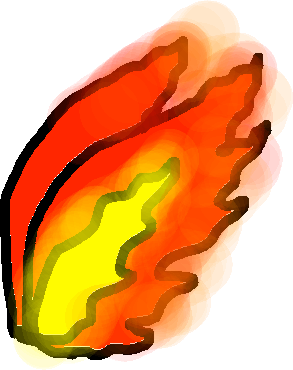 flame wings - drawing copy