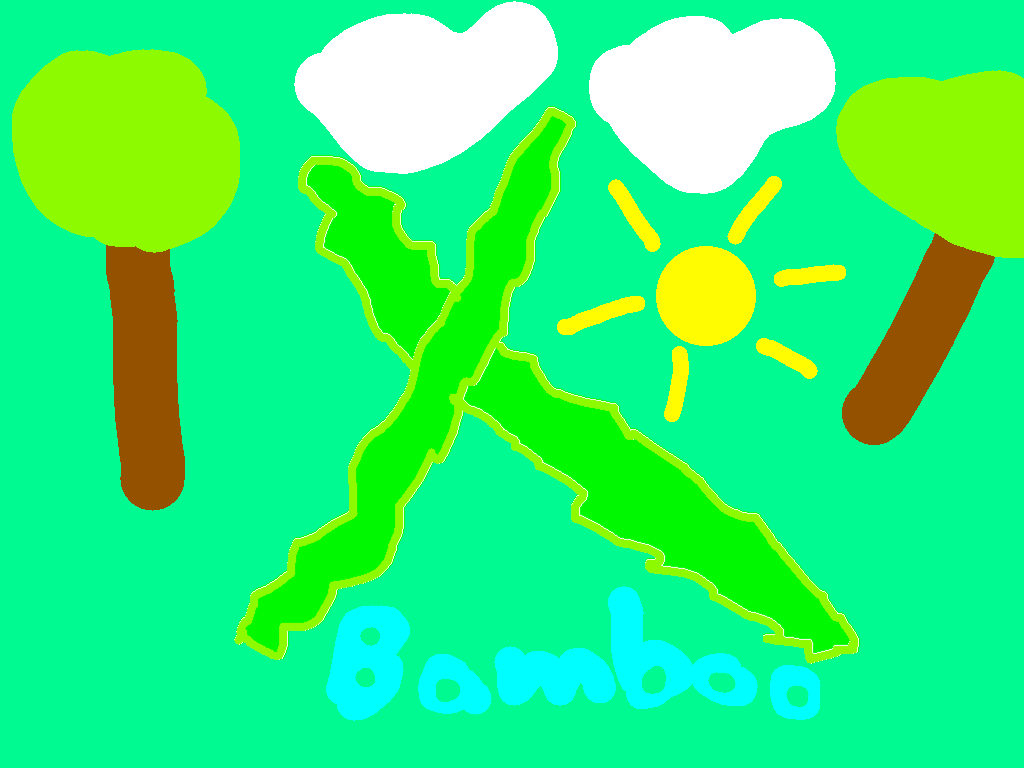 background scene - bamboo