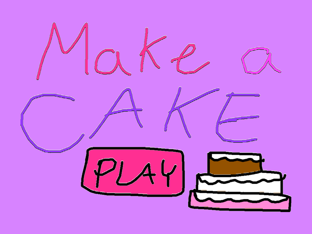 background scene - Make a cake