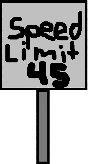SpeedLimit - drawing