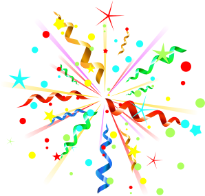 Spinner - Party Streamers