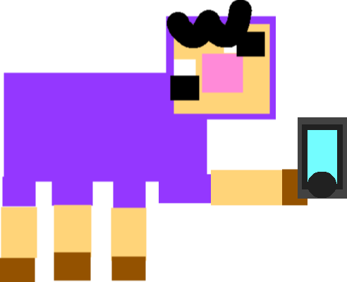 Purple Shep - shep phone
