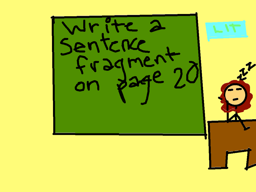 background scene - First period: Literature