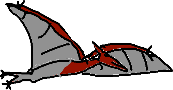 Pteranodon - drawing copy
