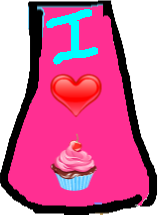 cupcake dress - drawing
