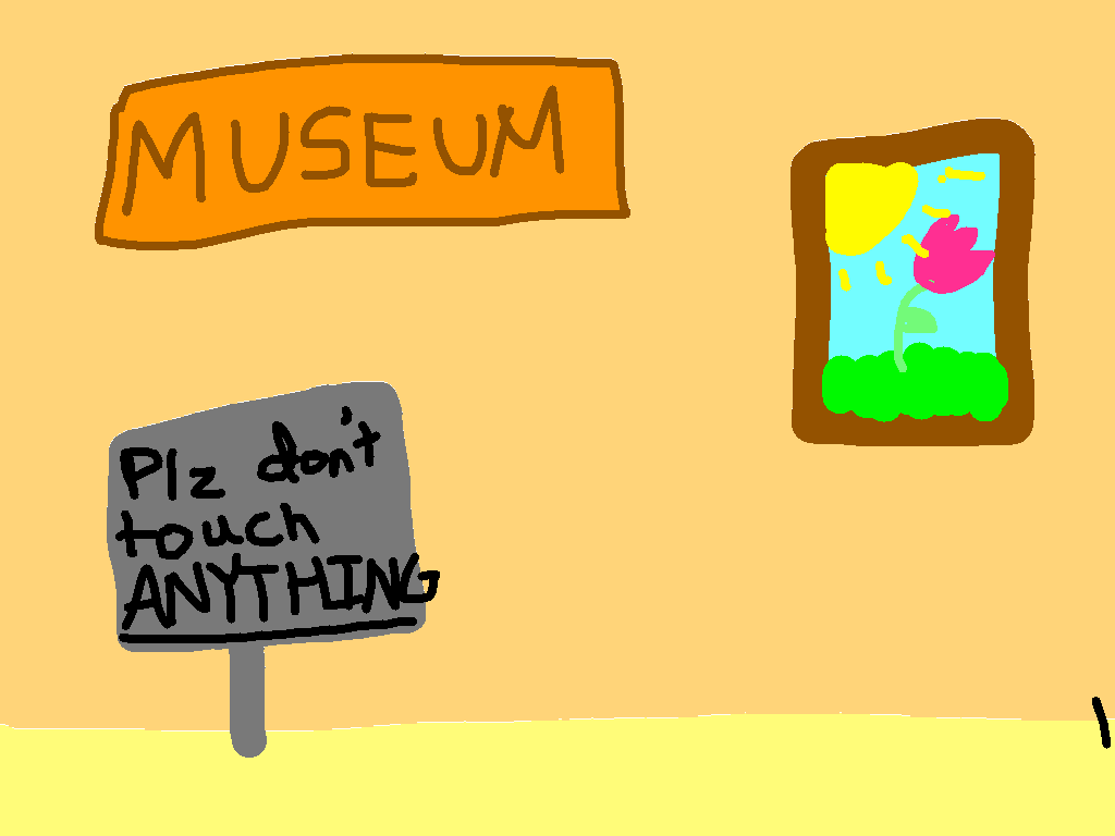 background scene - Museum