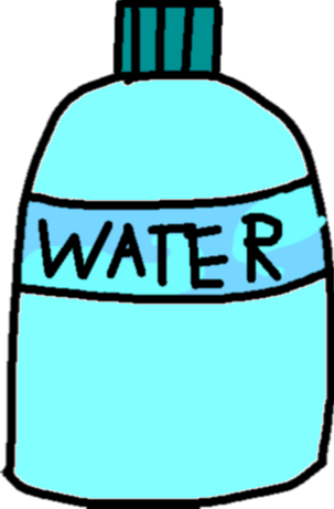 waterbottle - drawing